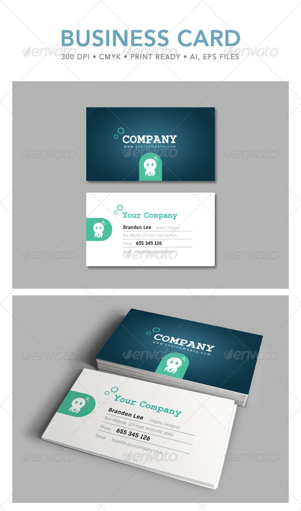 GraphicRiver Business Card 4503421