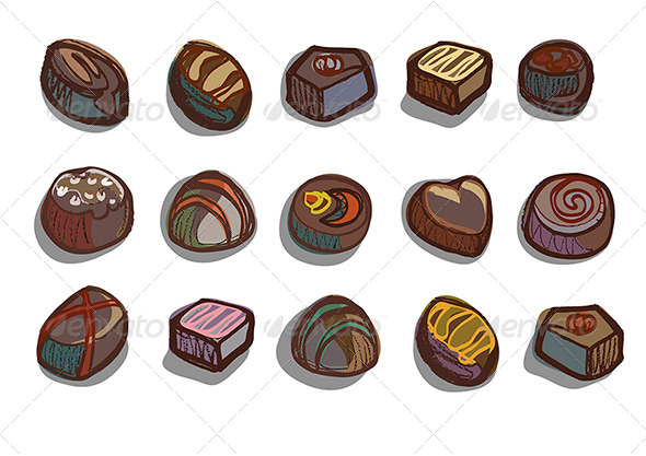 GraphicRiver Chocolate Box Chocolates 4674718