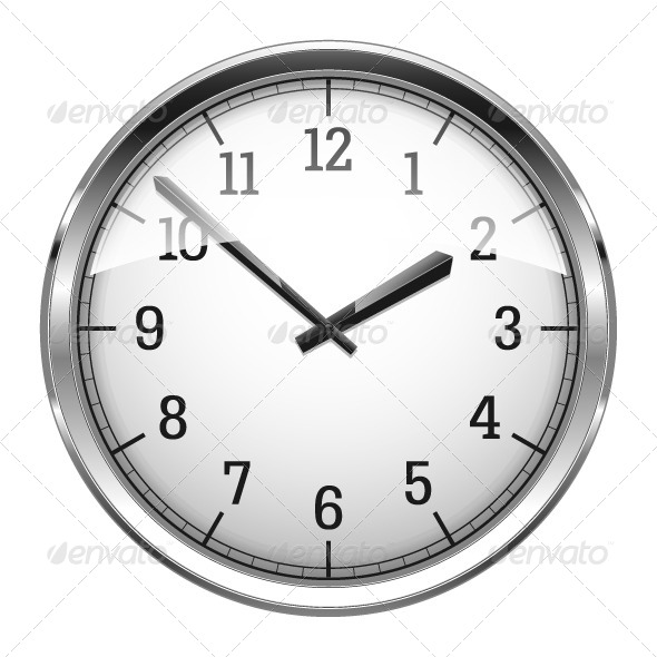 GraphicRiver Realistic Wall Clock 4663570