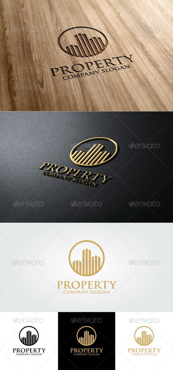 GraphicRiver Property Logo Template 4674823