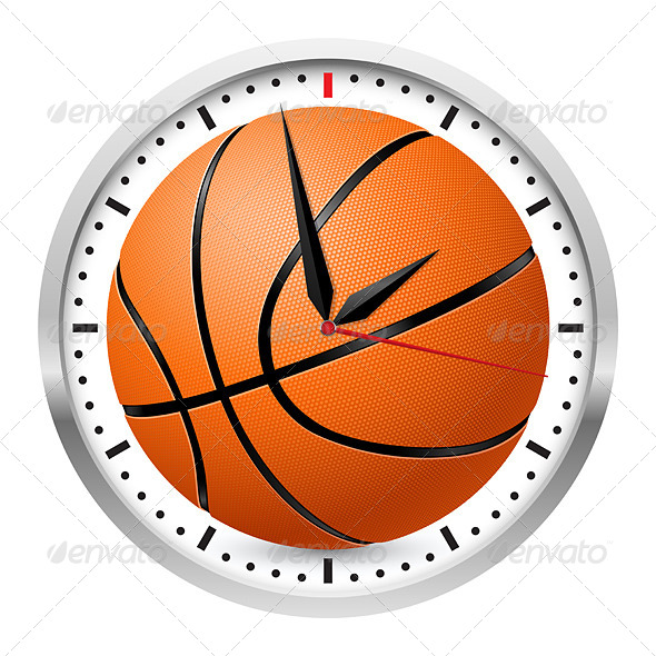 GraphicRiver Sports Wall Clock 4674915