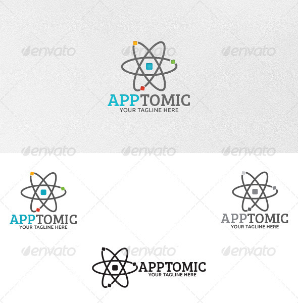GraphicRiver Apptomic Logo Template 4675500