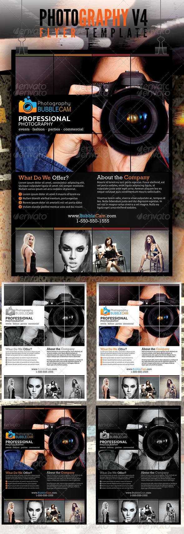 Photography Flyer v4 - Flyers Print Templates
