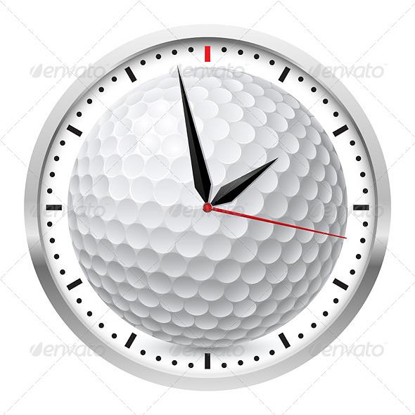 GraphicRiver Sports Wall Clock 4675885
