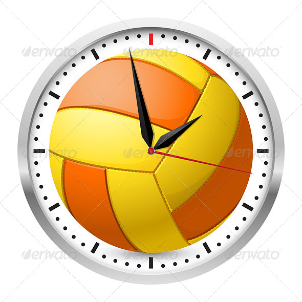 GraphicRiver Sports Wall Clock 4675886