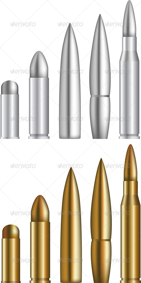 GraphicRiver Bullets 4676256