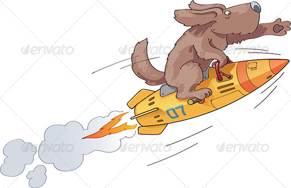 GraphicRiver Rocket Dog 4676258
