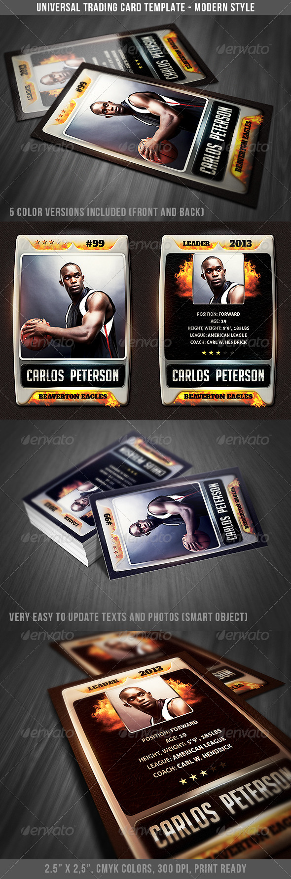 GraphicRiver Universal Sport Trading Card 3 4676409