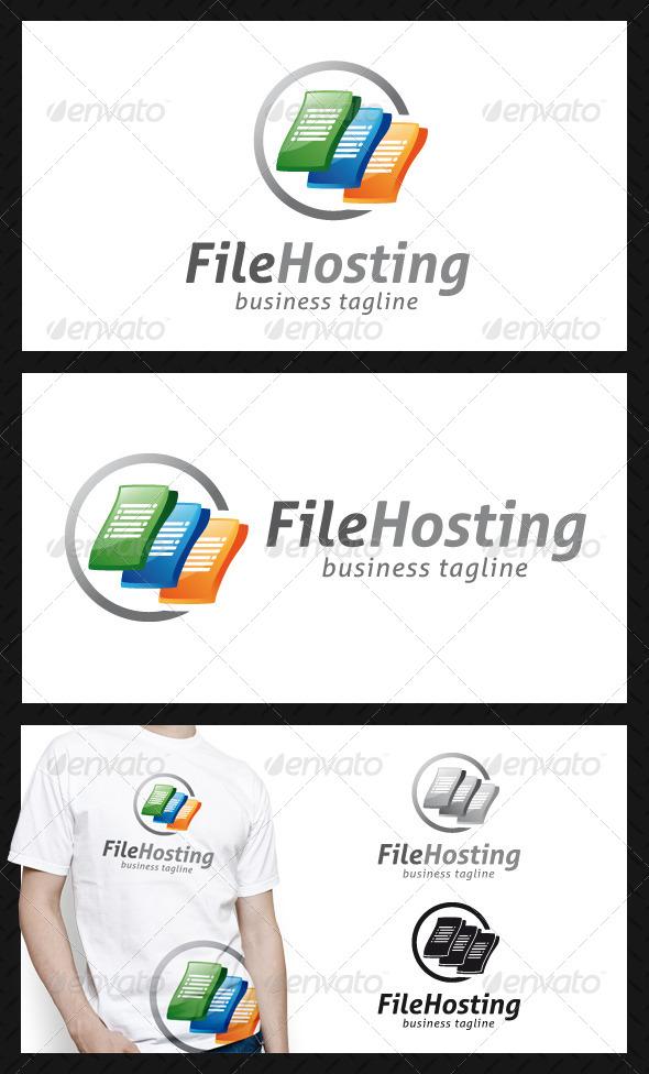 GraphicRiver File Hosting Logo Template 4676499