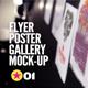 Flyer   Poster   Illustration Gallery Mock-Up