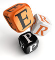 Erp orange black dice blocks - PhotoDune Item for Sale