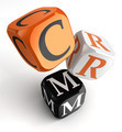 Crm orange black dice blocks - PhotoDune Item for Sale