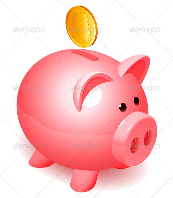 GraphicRiver Piggy Bank 4680222