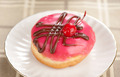 donut on a plate - PhotoDune Item for Sale