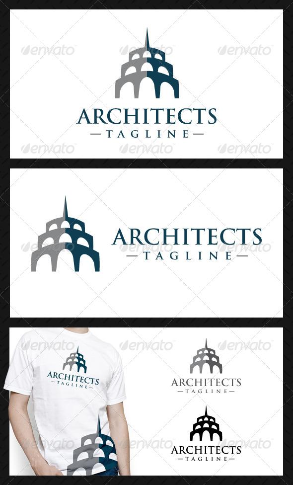 GraphicRiver Architects Studio Logo Template 4680657
