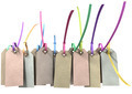 Paper Tag And Colourful Zip Tie Collection - PhotoDune Item for Sale