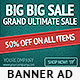 Green Event - Web Banner Design Template - GraphicRiver Item for Sale