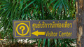 Wooden Visitor Center sign board - PhotoDune Item for Sale