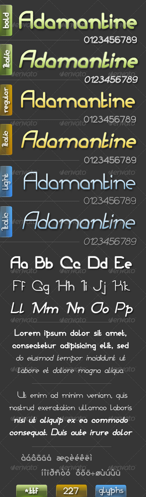 GraphicRiver Adamantine-Font 4681085