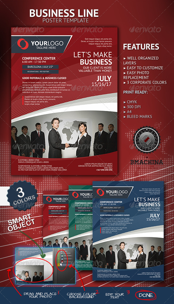 GraphicRiver Let s Make Business Poster Template 4681112