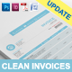 Gstudio Clean Invoices Template - GraphicRiver Item for Sale