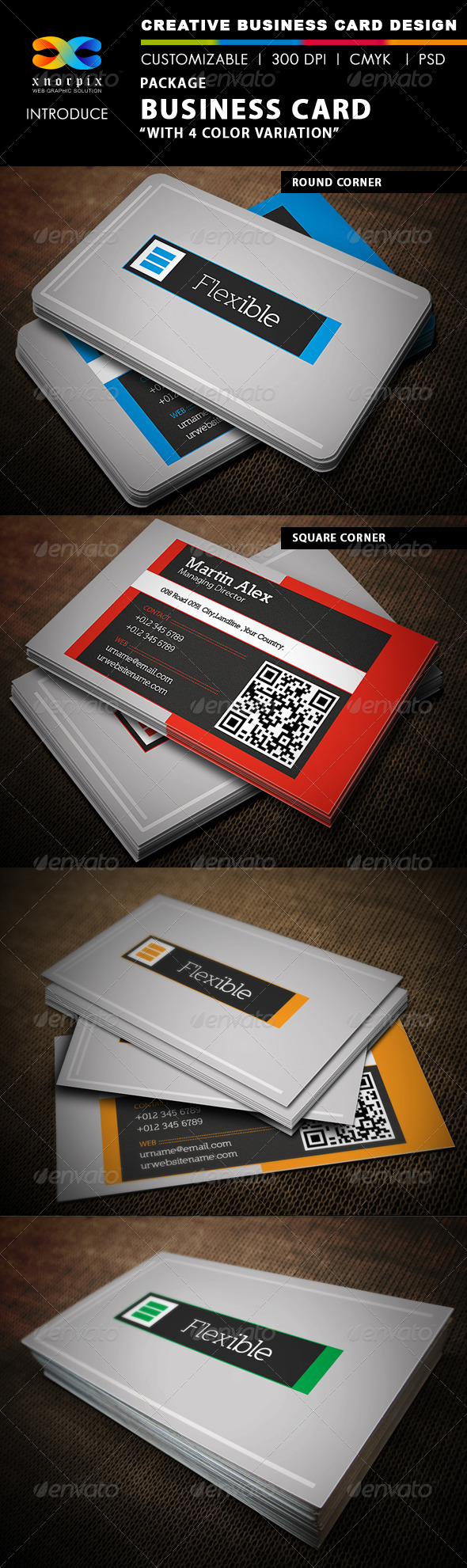 Package Business Card