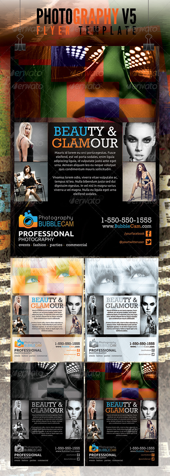 GraphicRiver Photography Flyer v5 4681776