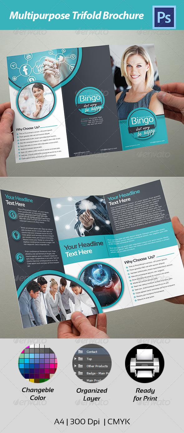 GraphicRiver Trifold Brochure 4611646