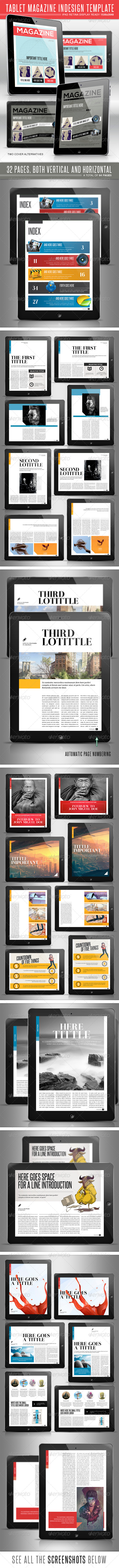 GraphicRiver Tablet MGZ Template 4682187