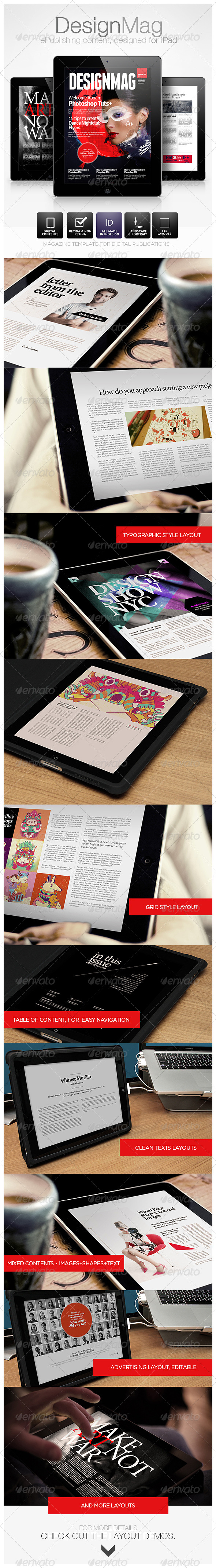 GraphicRiver DesignMag iPad Magazine 4682224