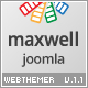 Maxwell - Joomla Multipurpose Template - ThemeForest Item for Sale