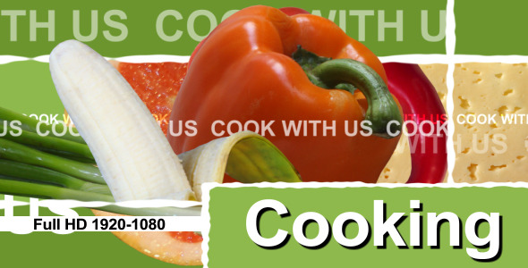 Cooking Show – TV Package (Openers)