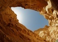 Blue sky seen from the bottom of a desert canyon  - PhotoDune Item for Sale