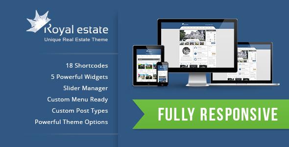 Royal Estate - Premium Wordpress Real Estate Theme