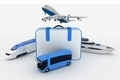 traffic resources with suitcase - PhotoDune Item for Sale