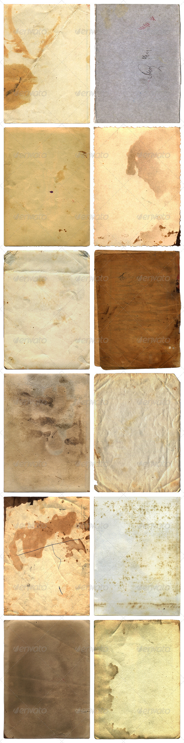 GraphicRiver Grunge Paper Backgrounds And Textures 4682526