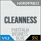 Cleanness - Business & Portfolio Wordpress Theme - ThemeForest Item for Sale