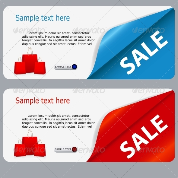 GraphicRiver Sale Banner with Place for your Text 4682815