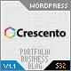 Crescento 5 in 1 – Business & Portfolio Theme  Free Download