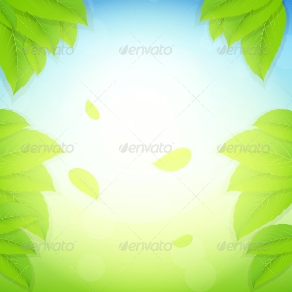 GraphicRiver Nature Background Vector Illustration 4683140