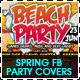 Spring & Beach Party Facebook Timeline Cover - GraphicRiver Item for Sale