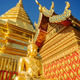 Golden Buddha in Wat Phra That Doi Suthep. - PhotoDune Item for Sale