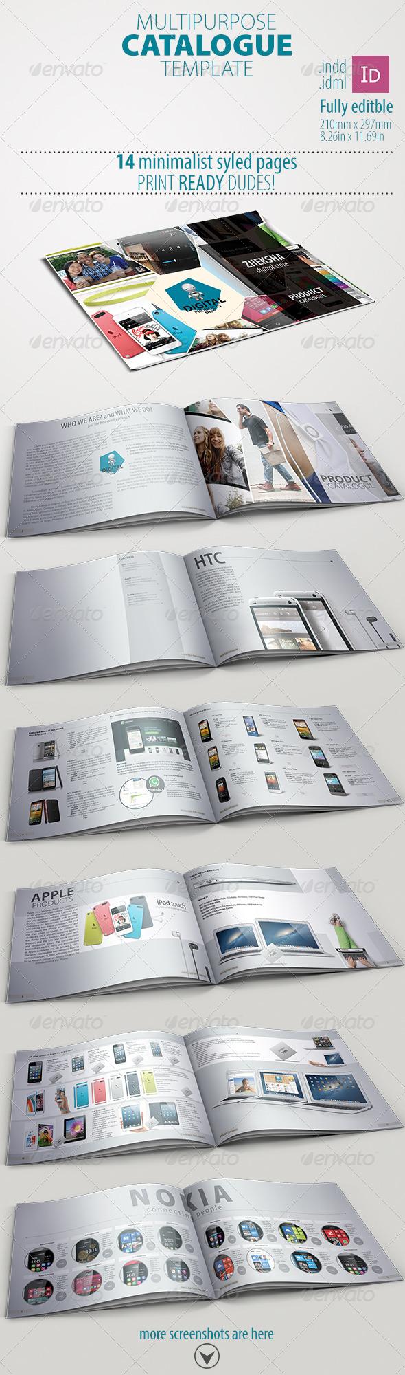 GraphicRiver Multipurpose Catalogue 4608765