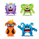 Monster Set - GraphicRiver Item for Sale