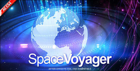 After Effects Project - VideoHive Space Voyager 490719