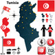 Download Vector Map of Tunisia