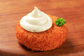 Fried patty and mayonnaise - PhotoDune Item for Sale
