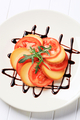 Sliced tomato and smoked cheese - PhotoDune Item for Sale