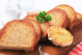 Pan fried bread and garlic - PhotoDune Item for Sale