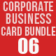Corporate Business Card Bundle 06 - GraphicRiver Item for Sale